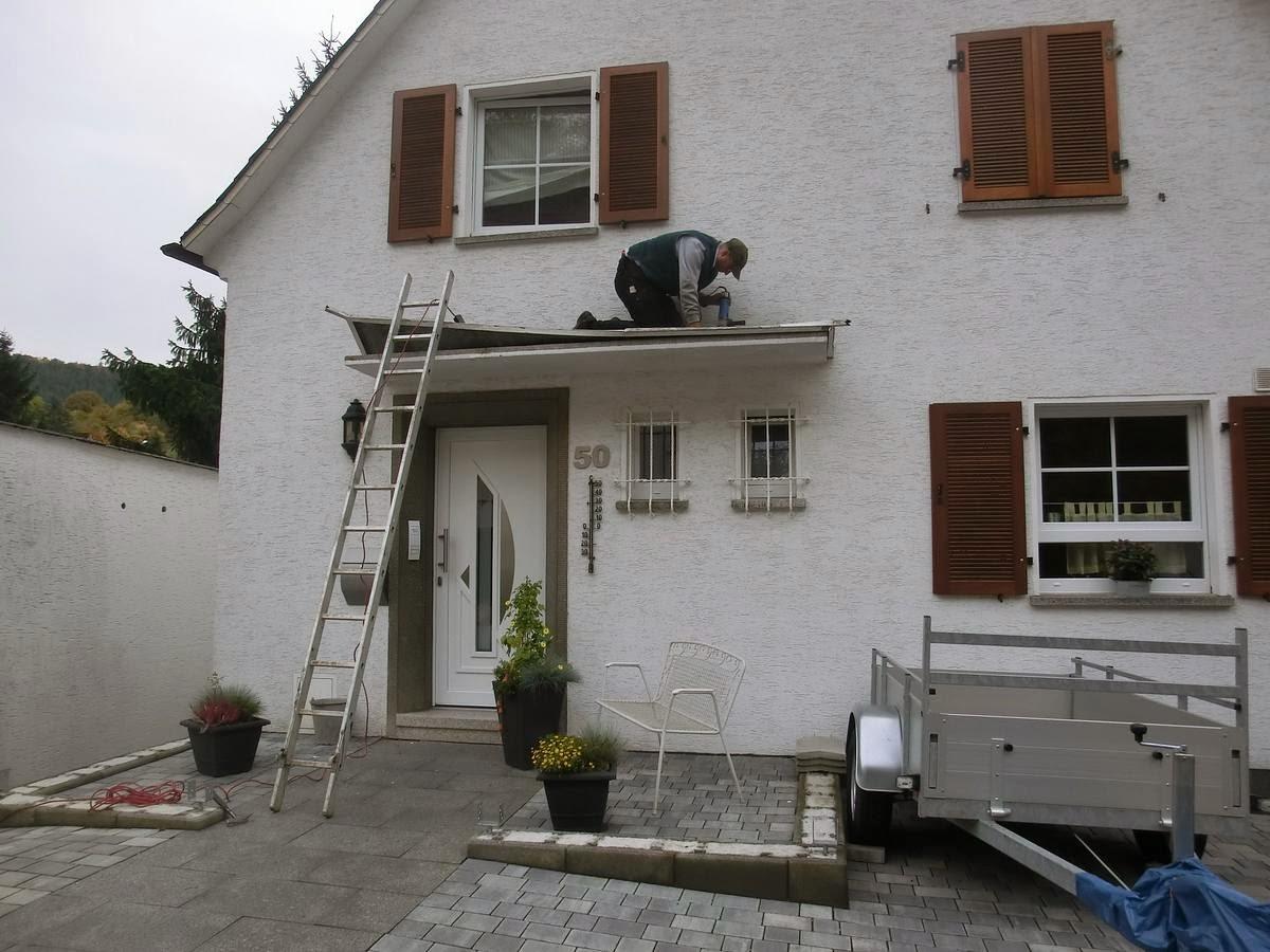 Vordach Beton michas holzblog gastbeitrag vordach frank