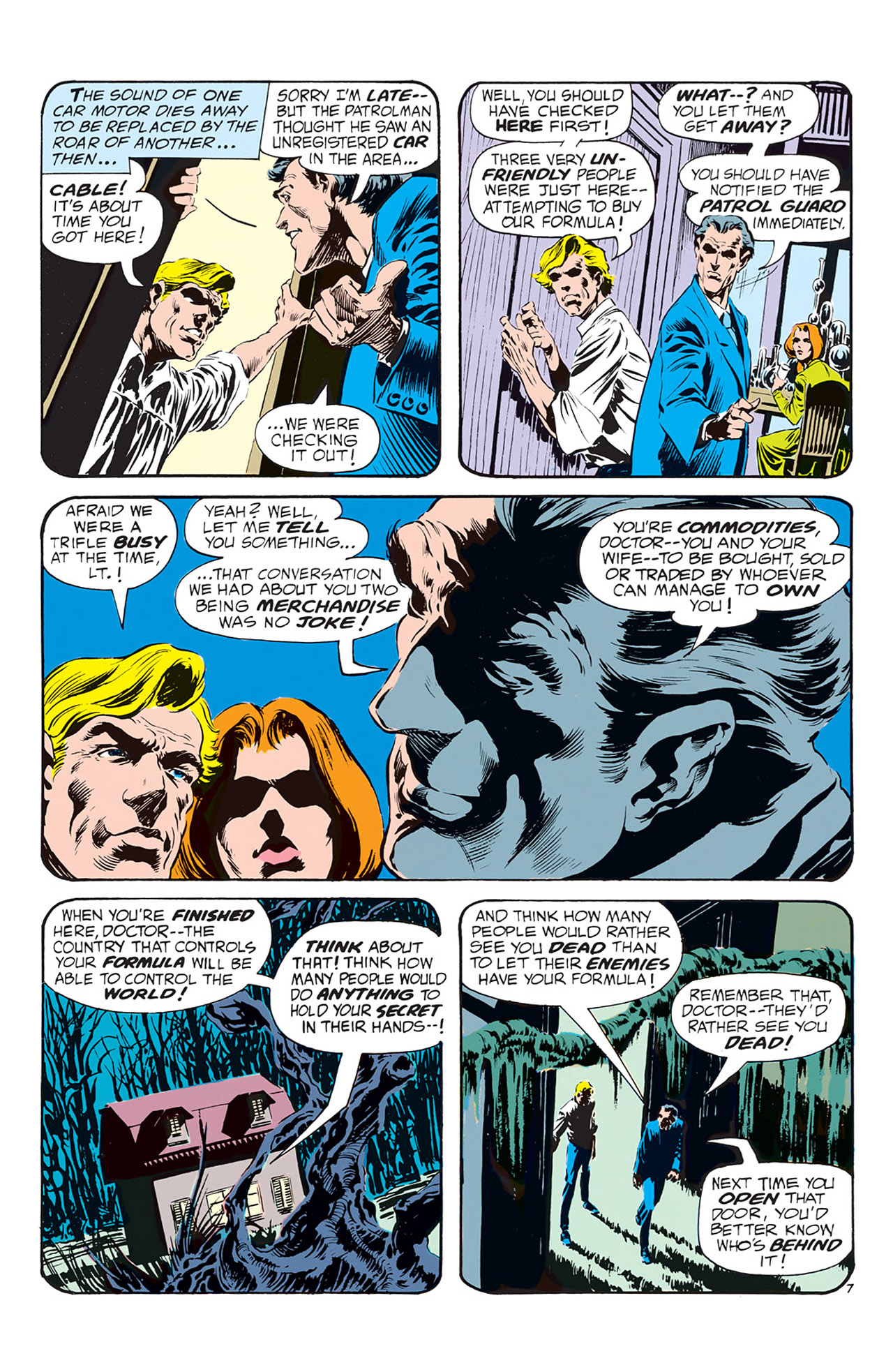 Swamp Thing (1972) Issue #1 #1 - English 8