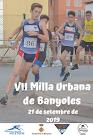 VII MILLA URBANA DE BANYOLES