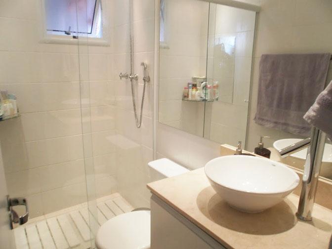 Segundo apartamento decorado pela leitora!  Comprando Meu Apê  Comprando Me -> Decoracao De Banheiro Com Pastilhas Bege