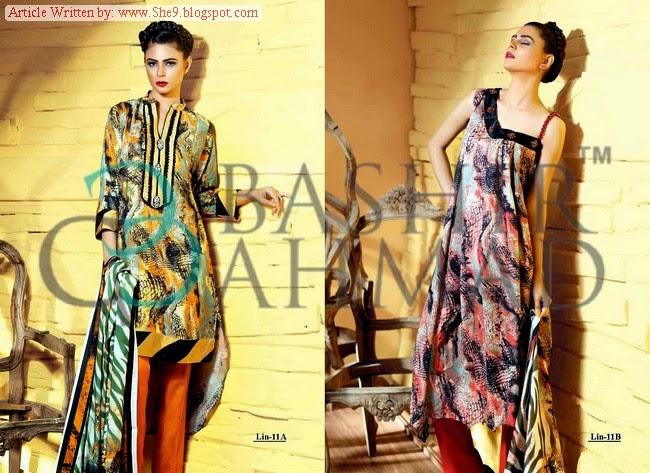 Bashir Ahmed Fall Linen Catalog