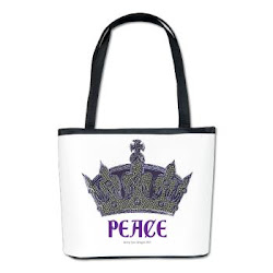 Peace Crown Bucket Bag
