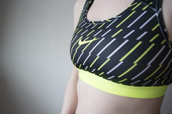 Nike pro classic bolt sports bra review