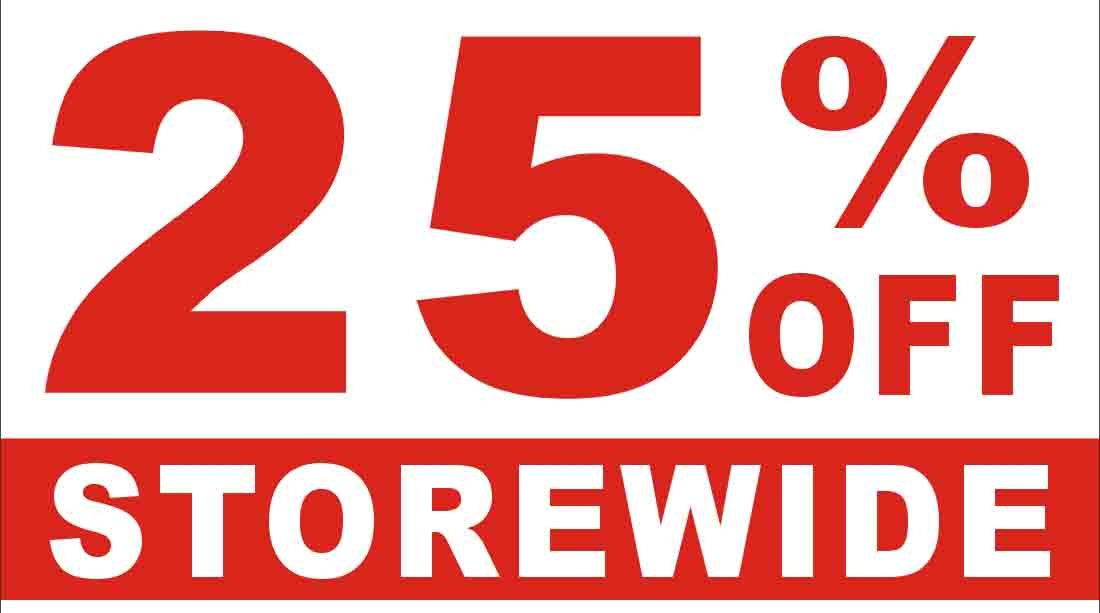 Big Sale! 25% Off When You Purchase 2 or More Furniture Items