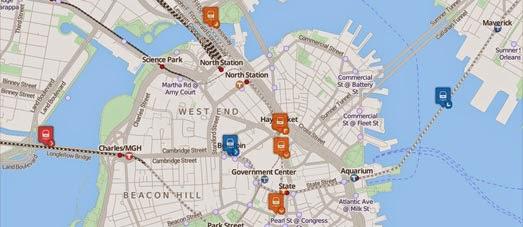 Maps Mania: Live Boston Train Maps