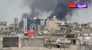 جيش النظام يقصف بلدات حمص بالصواريخ و الهاون