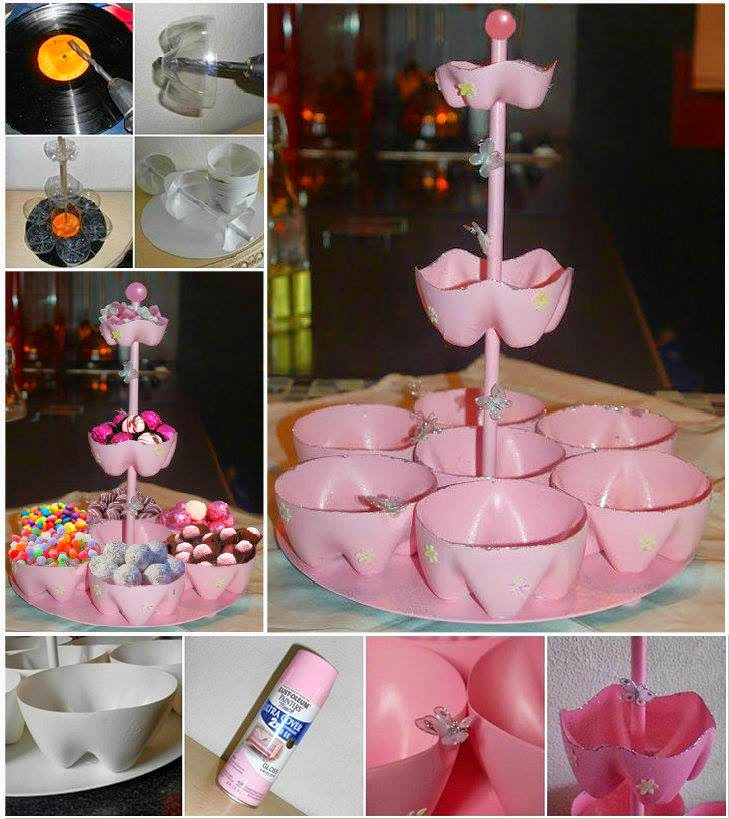 Ideas products plastic bottle candy stand for Crafts using plastic bottles