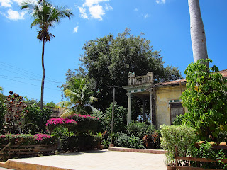 Santiago de Cuba in back of Casa del Caribe