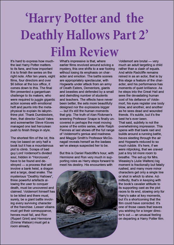 harry potter and the deathly hallows research papers Pre-ap english i summer book report title harry potter and the deathly hallows author jk rowling no of pages 759 genre fantasy why did i choose this.