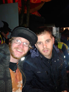 Mike Skinner at wickerman