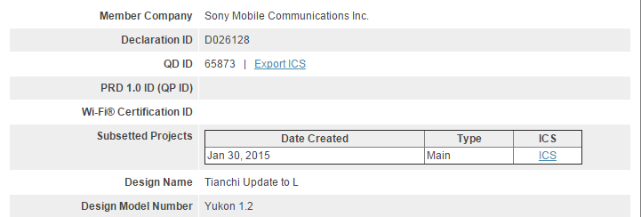 Sony sudah siapkan update Android Lollipop untuk Xperia T2 Ultra