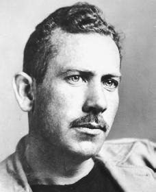 a brief biography of john steinbeck and an analysis of his works Scholars and fans of john steinbeck are fortunate to have two fine biographies   while more concise, is more prone to literary critical conjecture and interpretation   framing a biography around a couple for the duration of their marriage  at  least, i believe she changes how this period of his life and work should be viewed.
