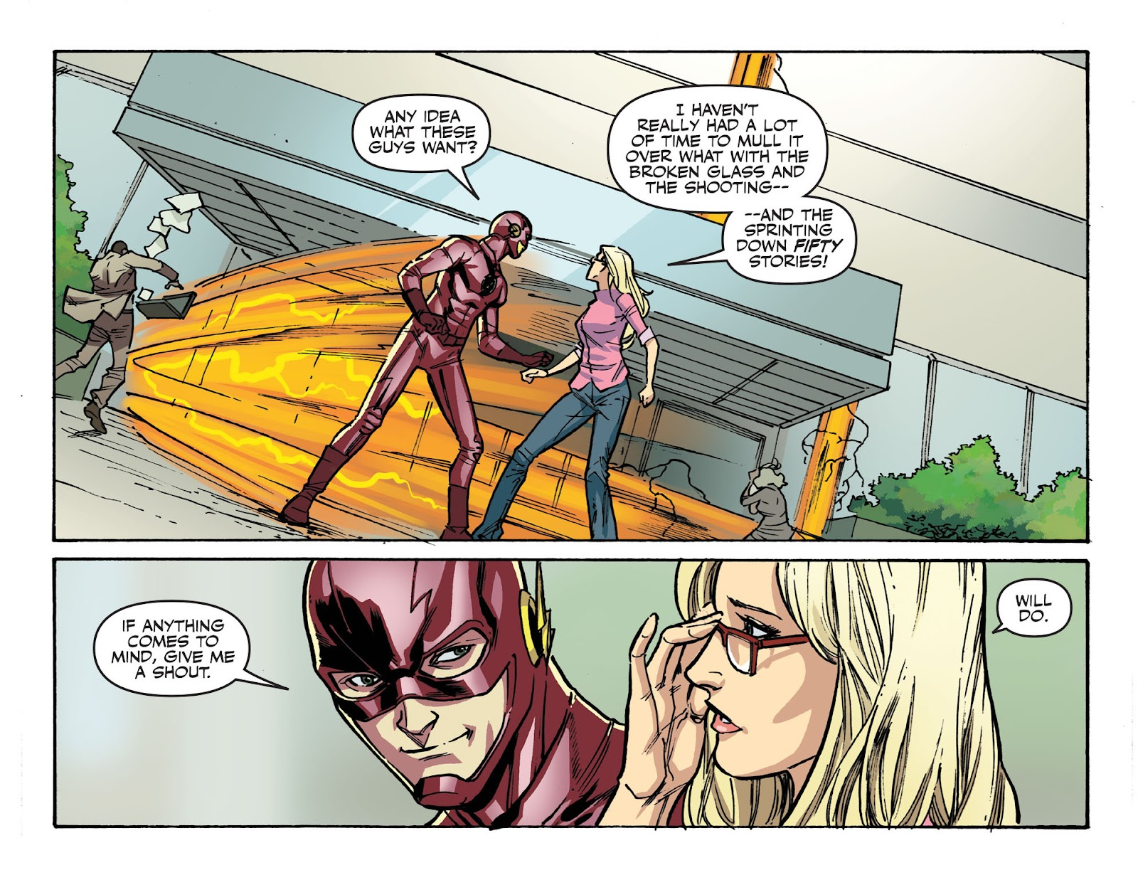The Flash: Season Zero [I] Issue #10 #10 - English 5