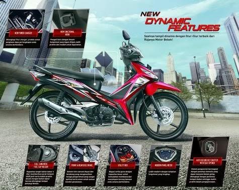 Spesifikasi New Honda Supra X 125 Fi