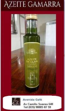 O Avenida Café agora está também vendendo o melhor azeite!!!  O azeite de oliva extra virgem do Gam