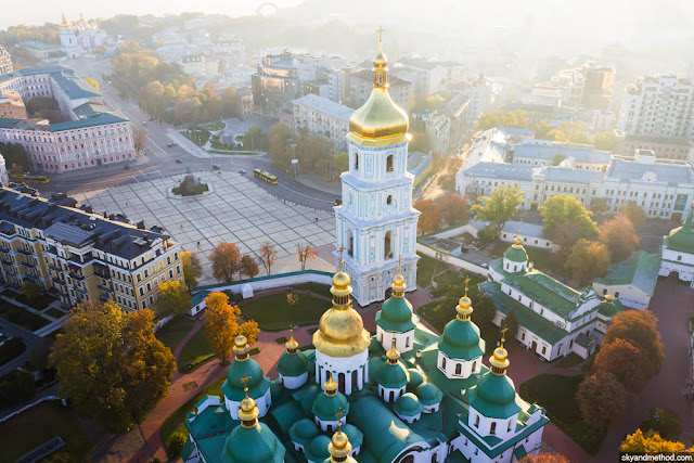 Eurovision 2017 ESC Kyiv St Sophia Cathedral - Things to Do Kiev