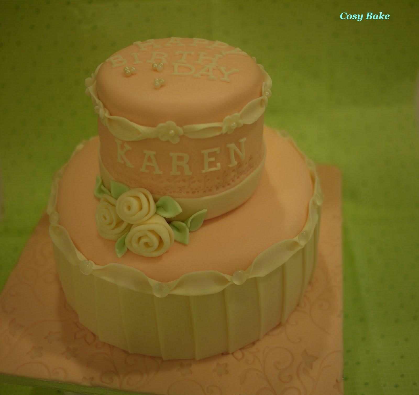 Bake Baby St Birthday Cake
