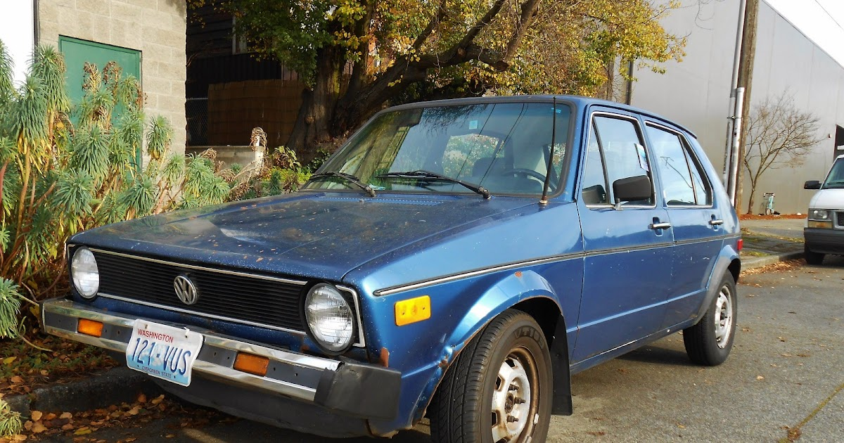 Seattles Parked Cars 1977 Vw Rabbit C