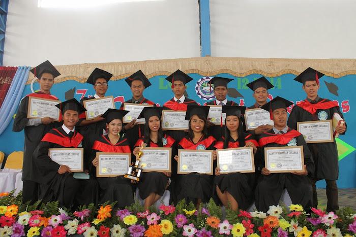 Our third graduating class - Dec. 2014