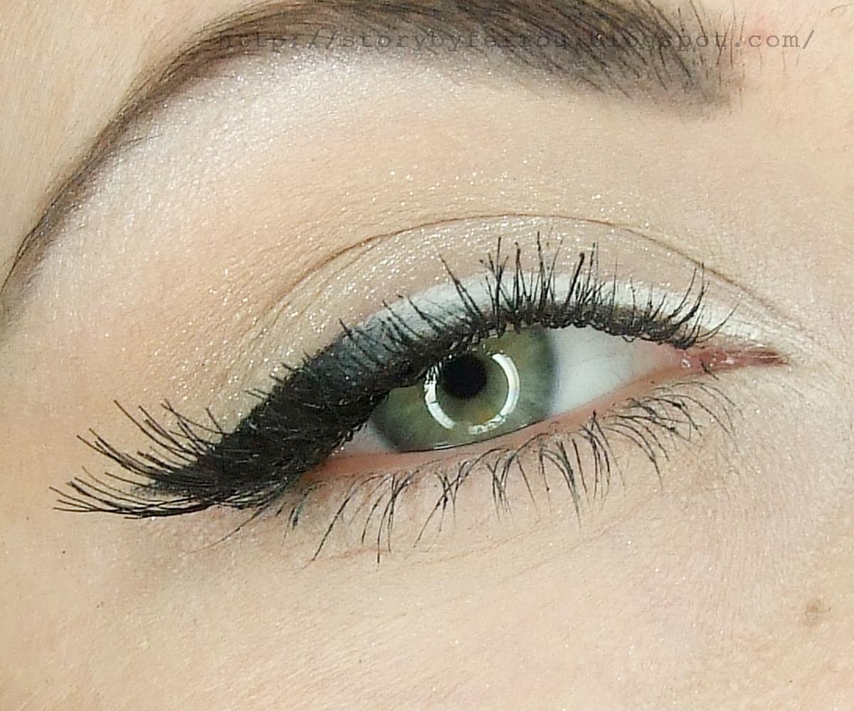 Ferrou Makeup Blog Makijaż Kosmetyki Makijaż Inspirowany Black