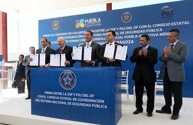 Puebla contará con la mejor Academia de Profesionalización Policial