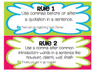 https://www.teacherspayteachers.com/Product/Commas-Mini-lesson-Learning-the-Rules-and-Practicing-497836