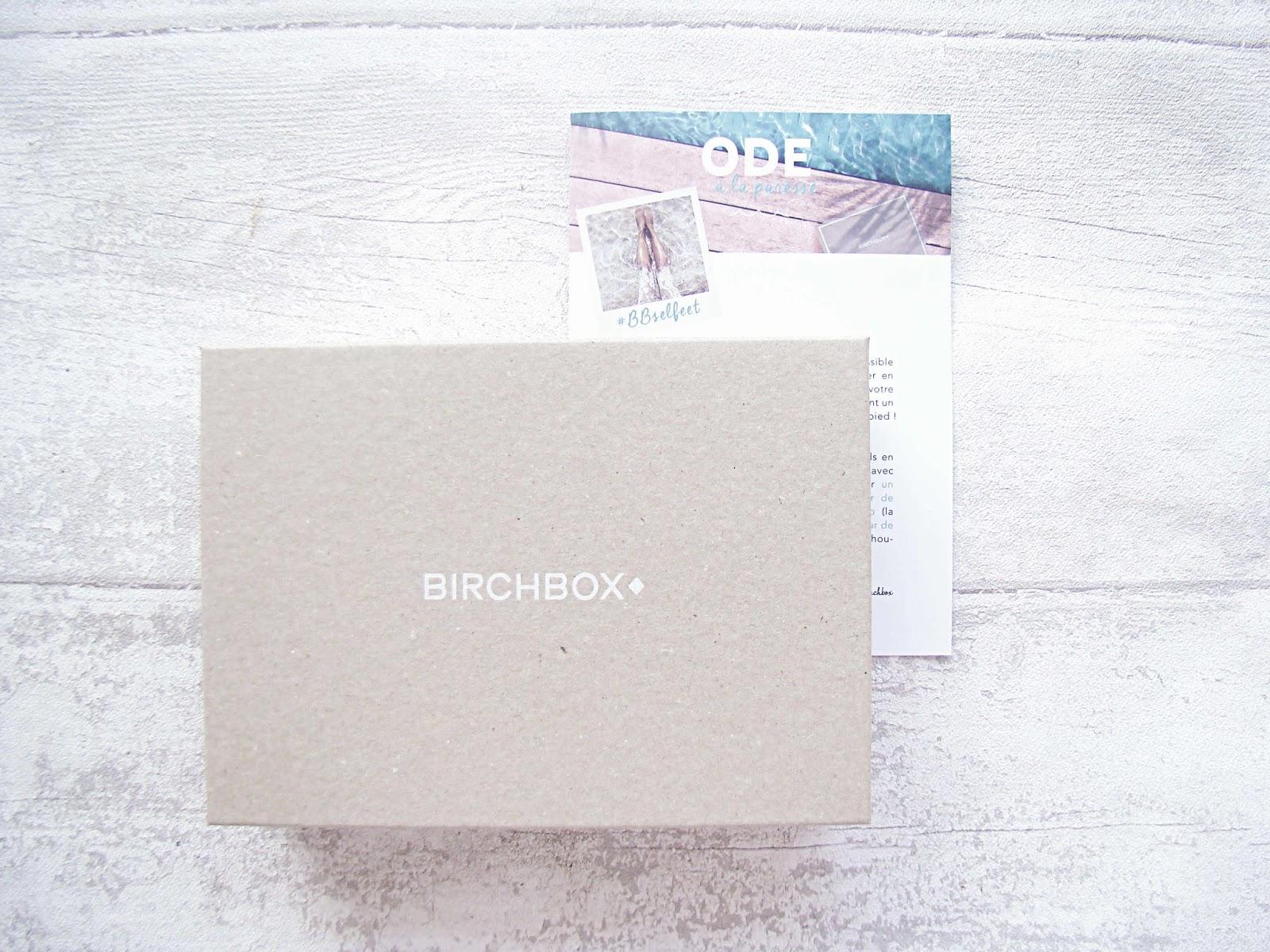 Birchbox août 2014... Ôde à la paresse