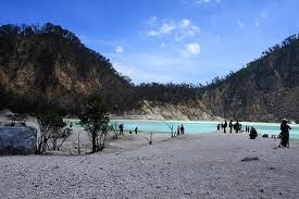 Kawah Putih The White Crater
