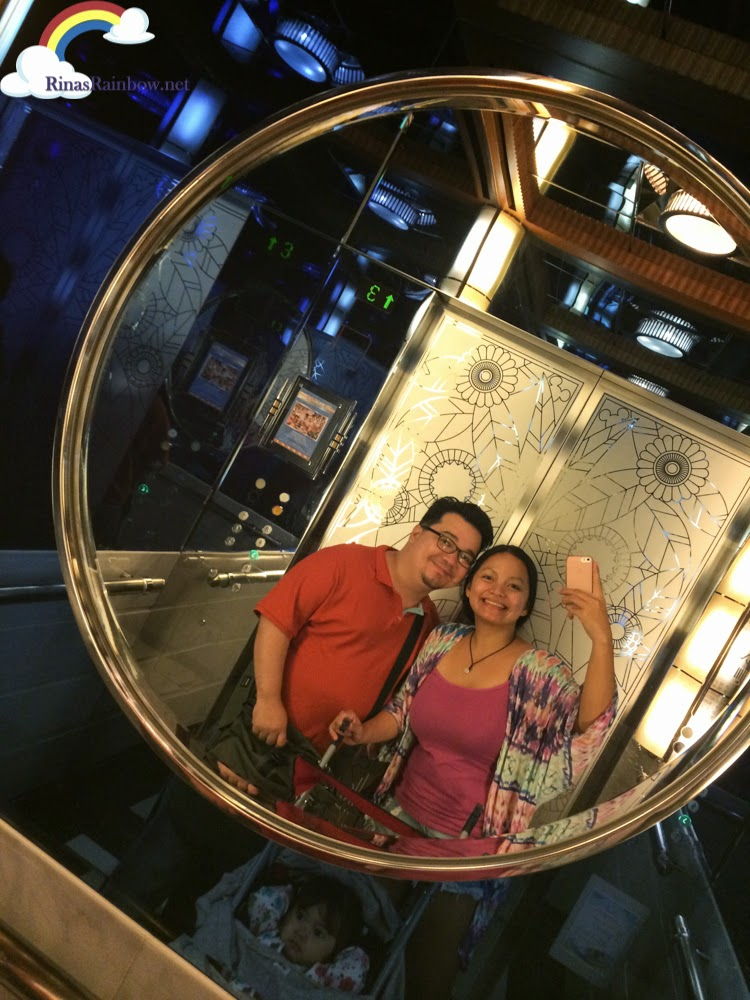 disneyland hollywood elevator