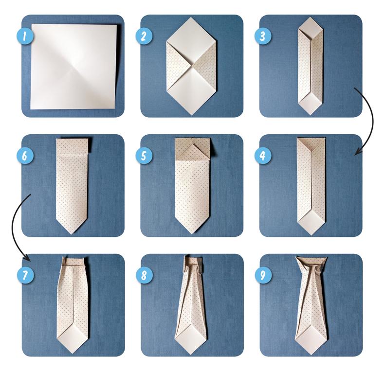 Сделать своими руками галстук