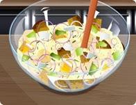 العاب طبخ سلطة البطاطس