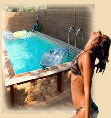 piscine en kit ou posée