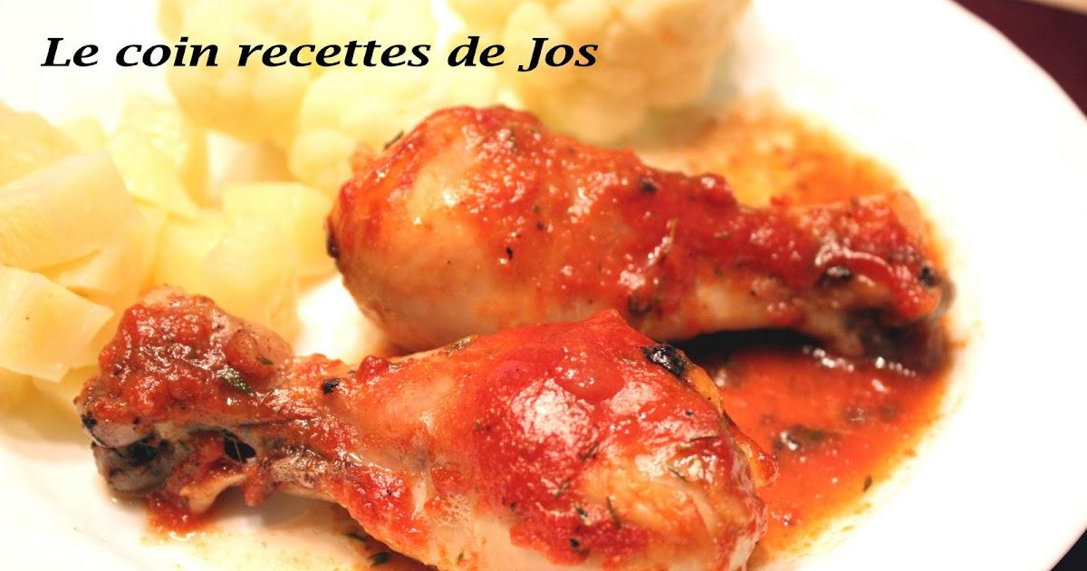 Le coin recettes de jos pilons de poulet l 39 rable - Le bon coin four encastrable ...