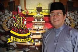 Menteri besar Selangor Tan Sri Khalid Ibrahim