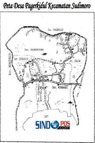 Profil Desa & Kelurahan, Desa Pagerkidul Kecamatan Sudimoro Kabupaten Pacitan