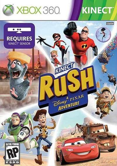 Kinect Rush A Disney Pixar Adventure Xbox 360 Español 2012 RF