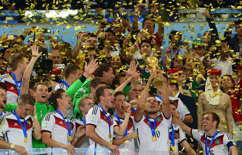 Alemania Campeón Mundial de Brasil 2014