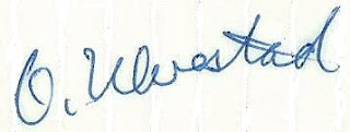 Firma de Olaf Ulvestad
