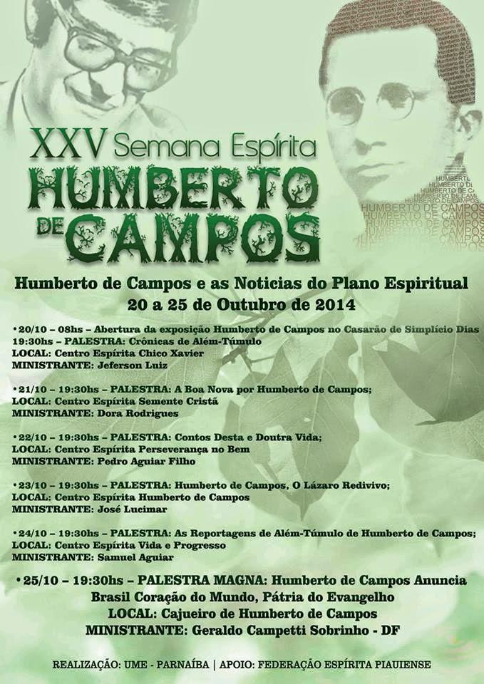 Programação Semana Humberto de Campos