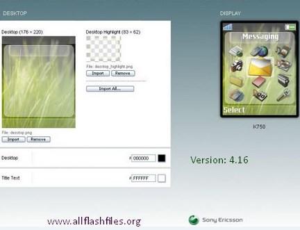 Sony Ericson Theme Creator v4.16