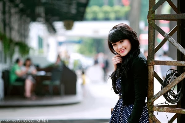 Chiêm ngưỡng vẻ đẹp quyến rũ của Hotgirl Khánh Chi