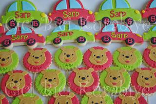erkek çocuk doğum günü kurabiyeleri