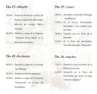 Cartel de las fiestas 2011 de Candelario Salamanca programación
