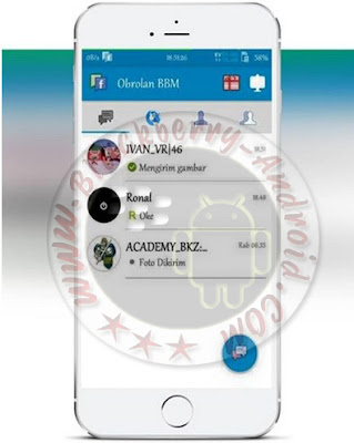 BBM Mod Block Read Status Tema Facebook Terbaru v2.10.0.30 Apk