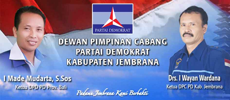 Situs Resmi DPC Partai Demokrat Jembrana