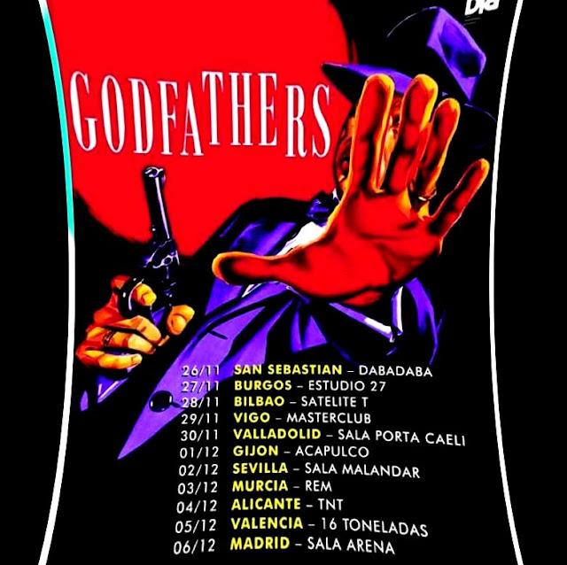 Qué vuelven los Godfathers!!! - Gira 2015