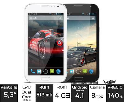 smartphone TIANJI N7100
