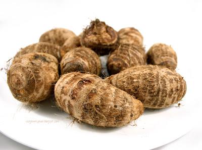 Oppskrift Vegansk Julemat Vegetarisk Taro Pure Jordskokk Tilbehør Julemiddag