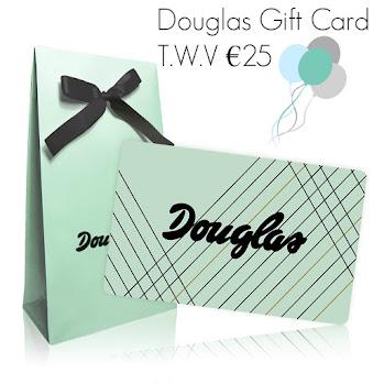 Birthday Winactie / Douglas Gift Card T.W.V €25