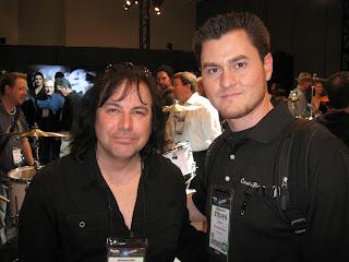 Steven Fies, Jimmy DeGrasso, NAMM, NAMM 2013, NAMM2013, Megadeth, Suicidal Tendencies